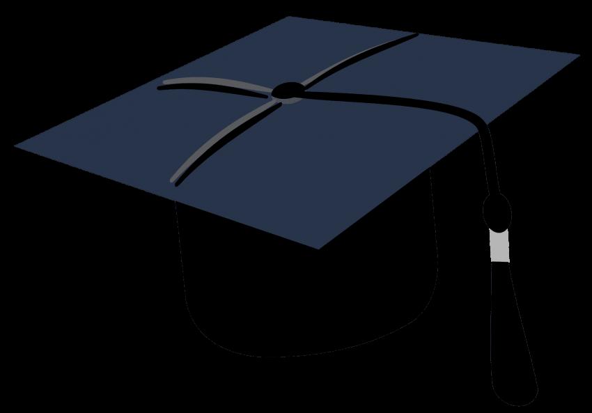 Hat cap png free. Graduation clipart gown
