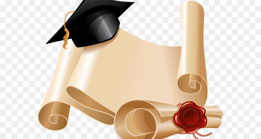 Cap . Diploma clipart graduation hat