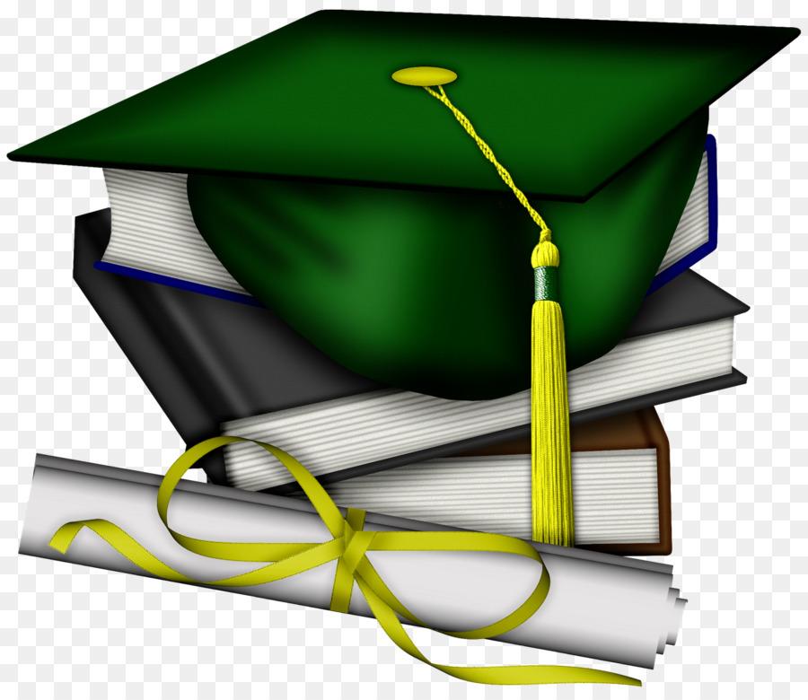 Diploma clipart green. School dress cap hat