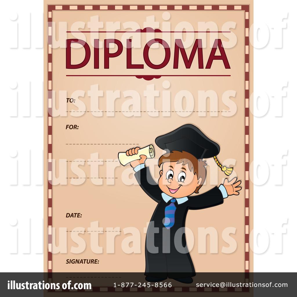 Diploma clipart illustration. By visekart