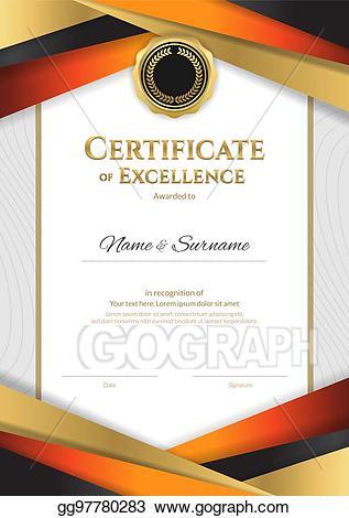 Eps vector portrait luxury. Diploma clipart logo design