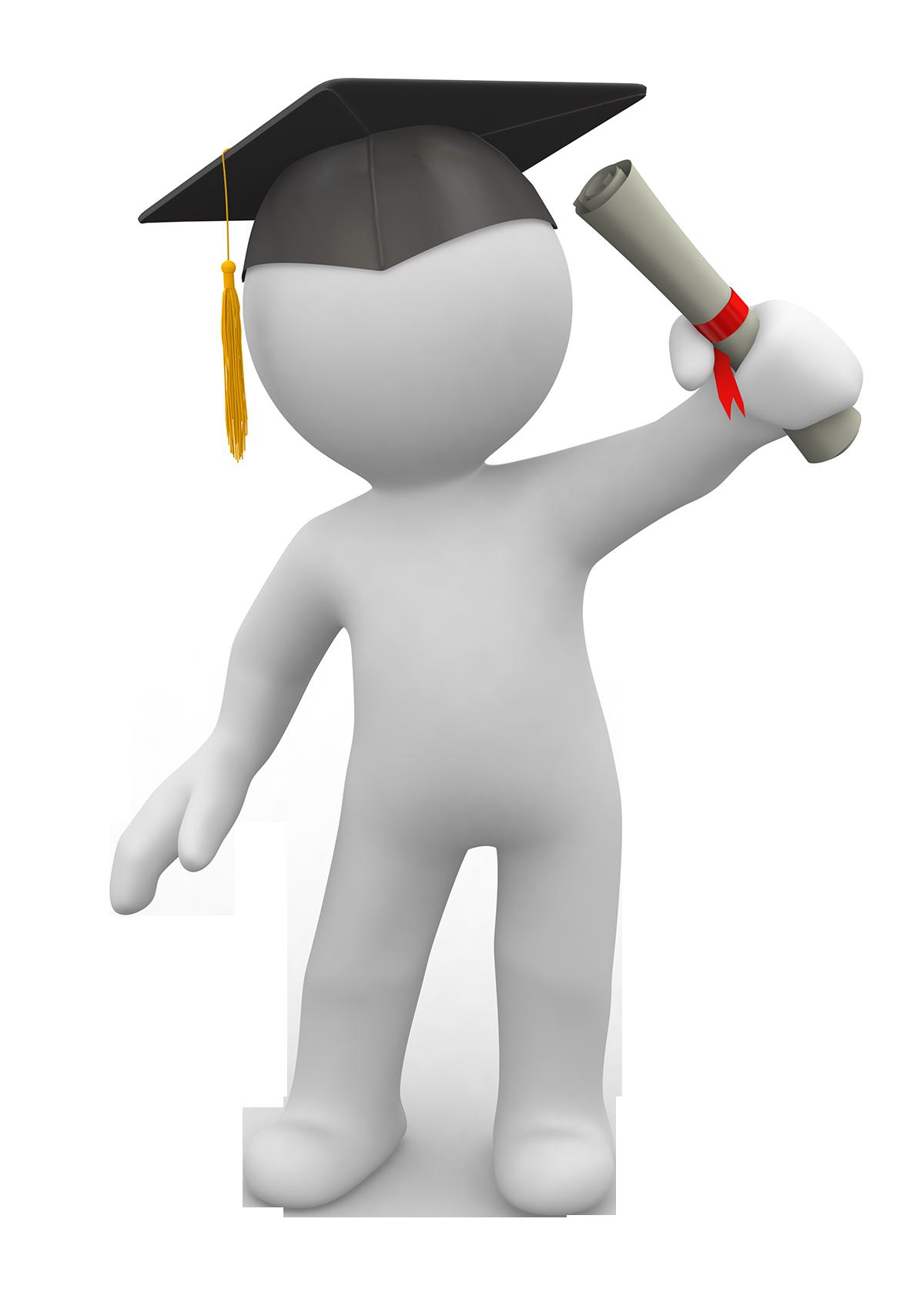 Multimedia university student graduation. Diploma clipart masters degree