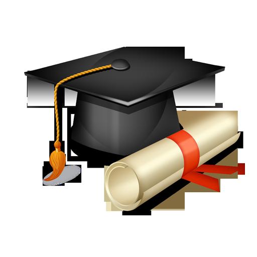 Graduation ceremony graduate university. Diploma clipart masters degree