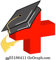 Diploma clipart medical degree. Stock illustration doctor md