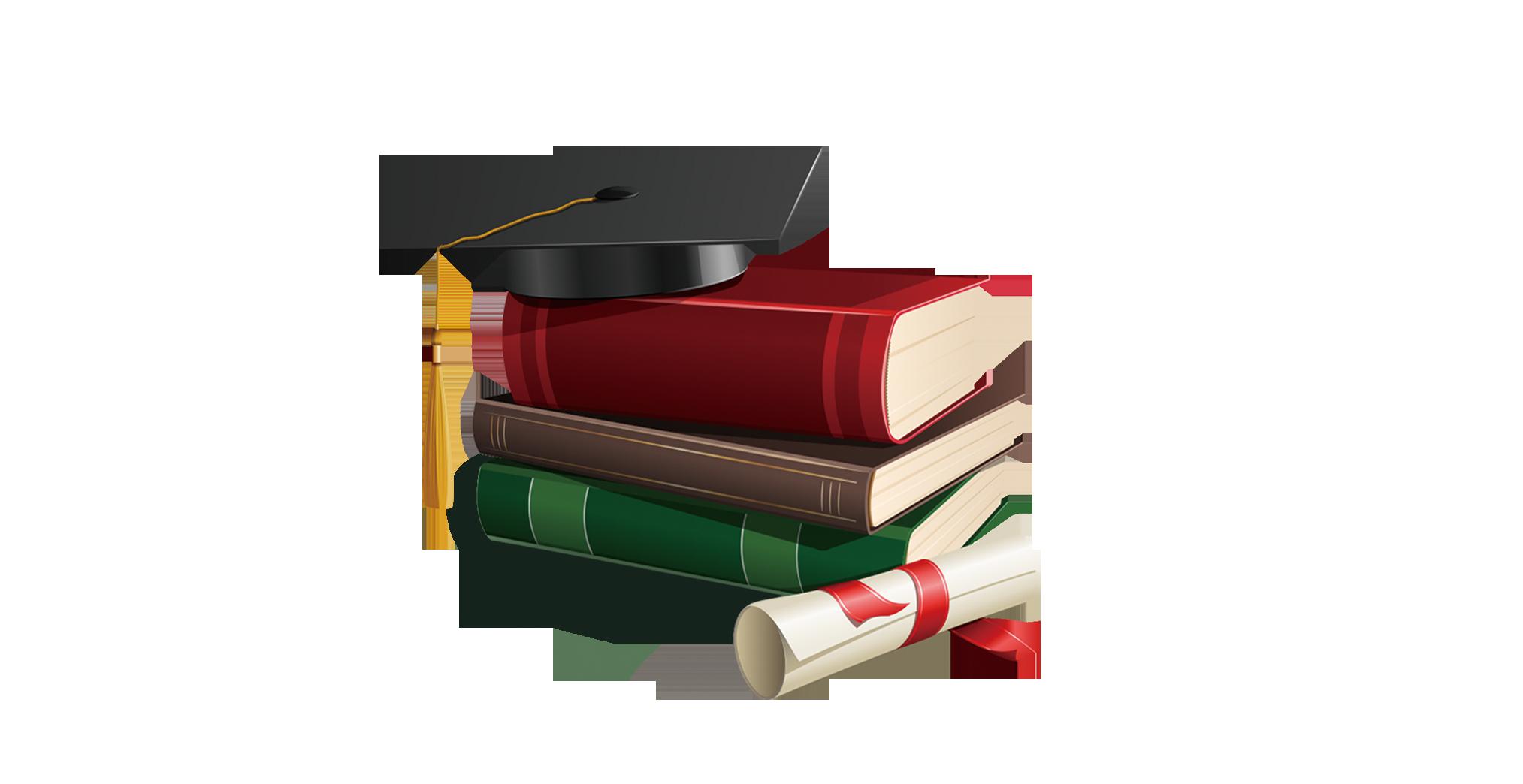 Square clipart book. Graduation ceremony academic cap