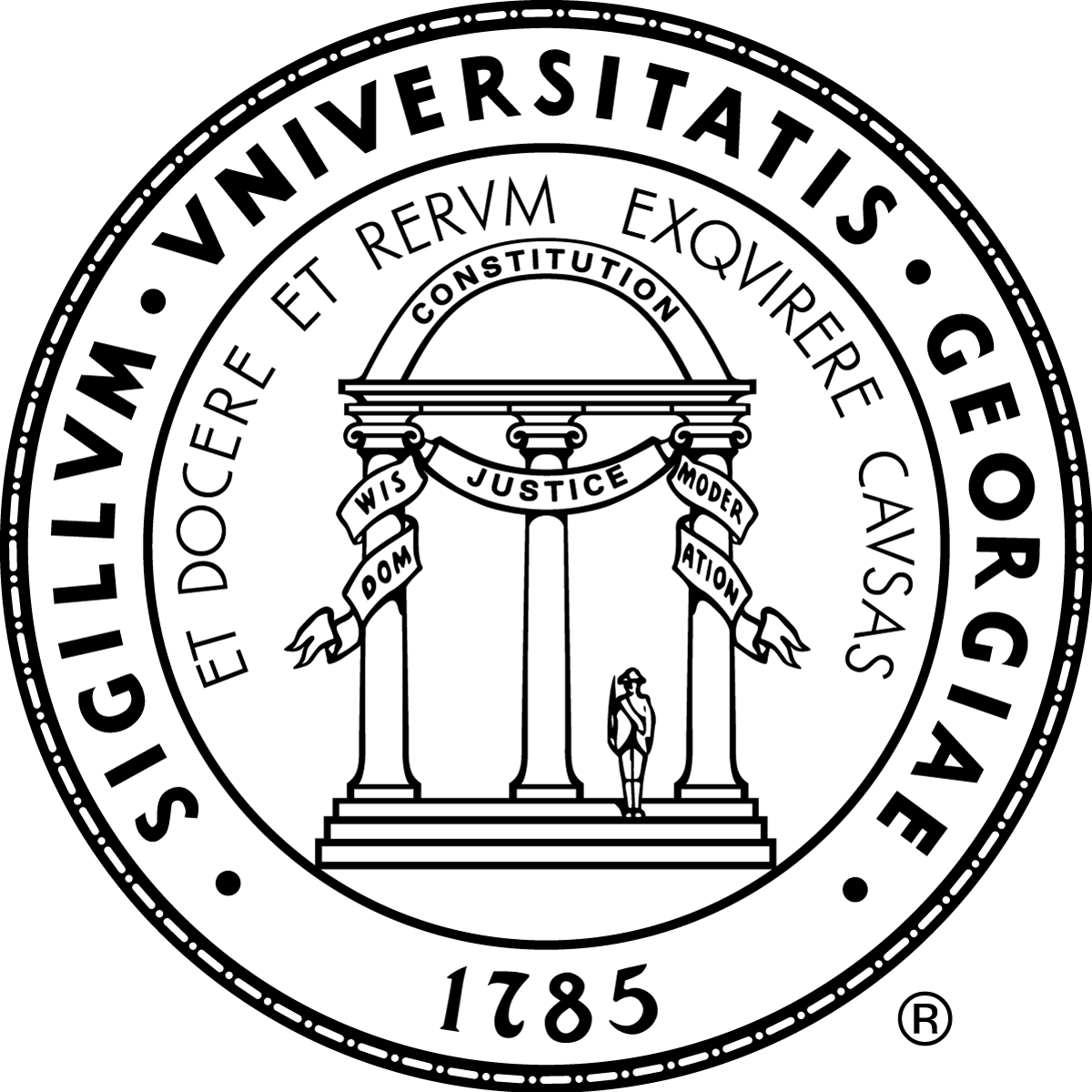 University logos and marks. Diploma clipart official document