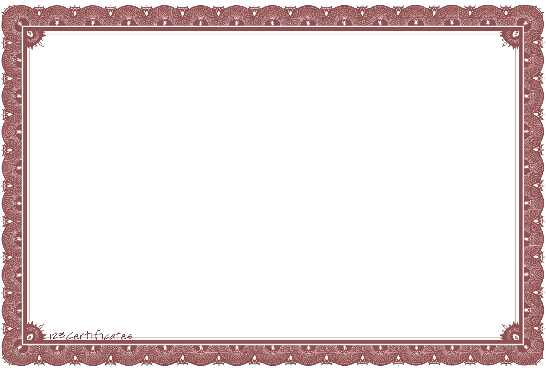 Certificate frame png. Template transparent images all