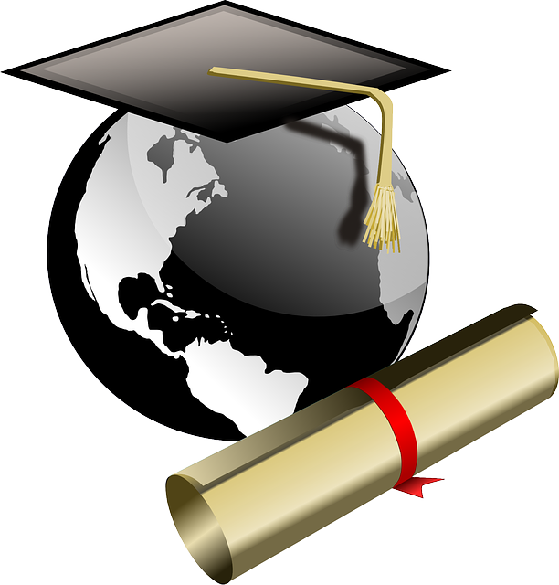 Annual study for international. Diploma clipart post secondary