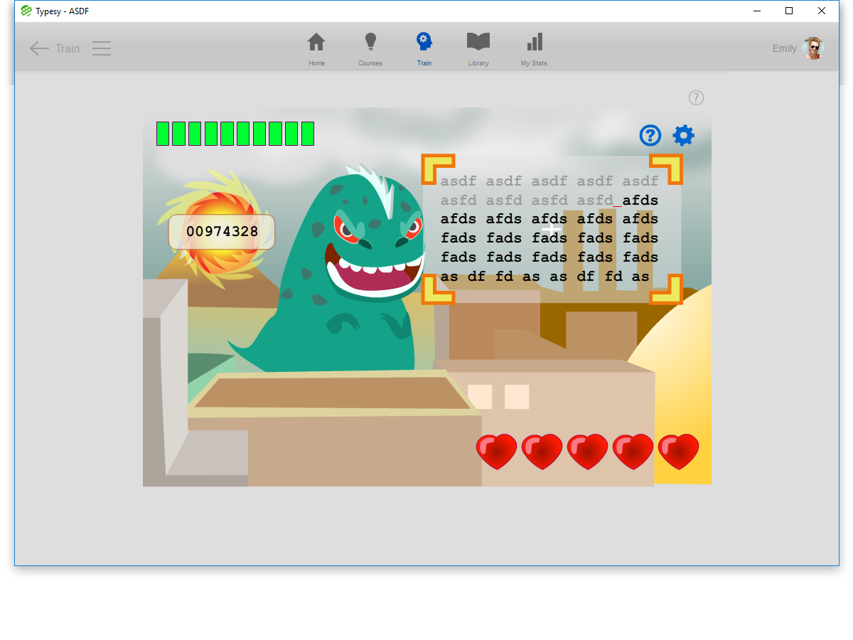 Typesy touch keyboarding software. Laptop clipart typing