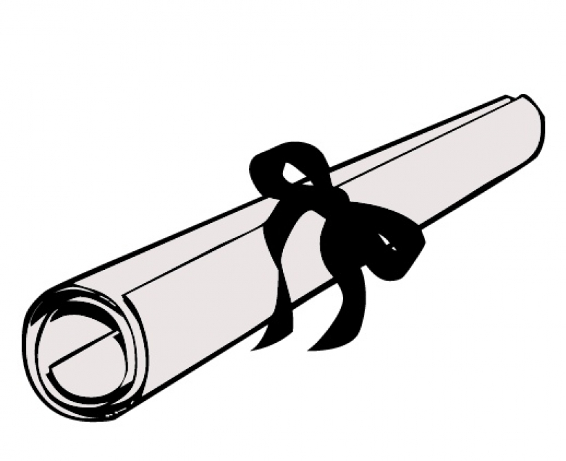 Diploma clipart rolled up. Free transparent download clip