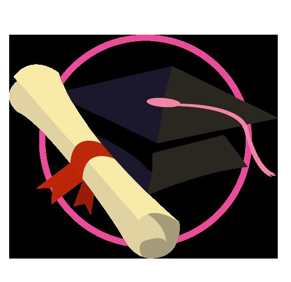 Diploma clipart scholarship. Comisi n femenil raise