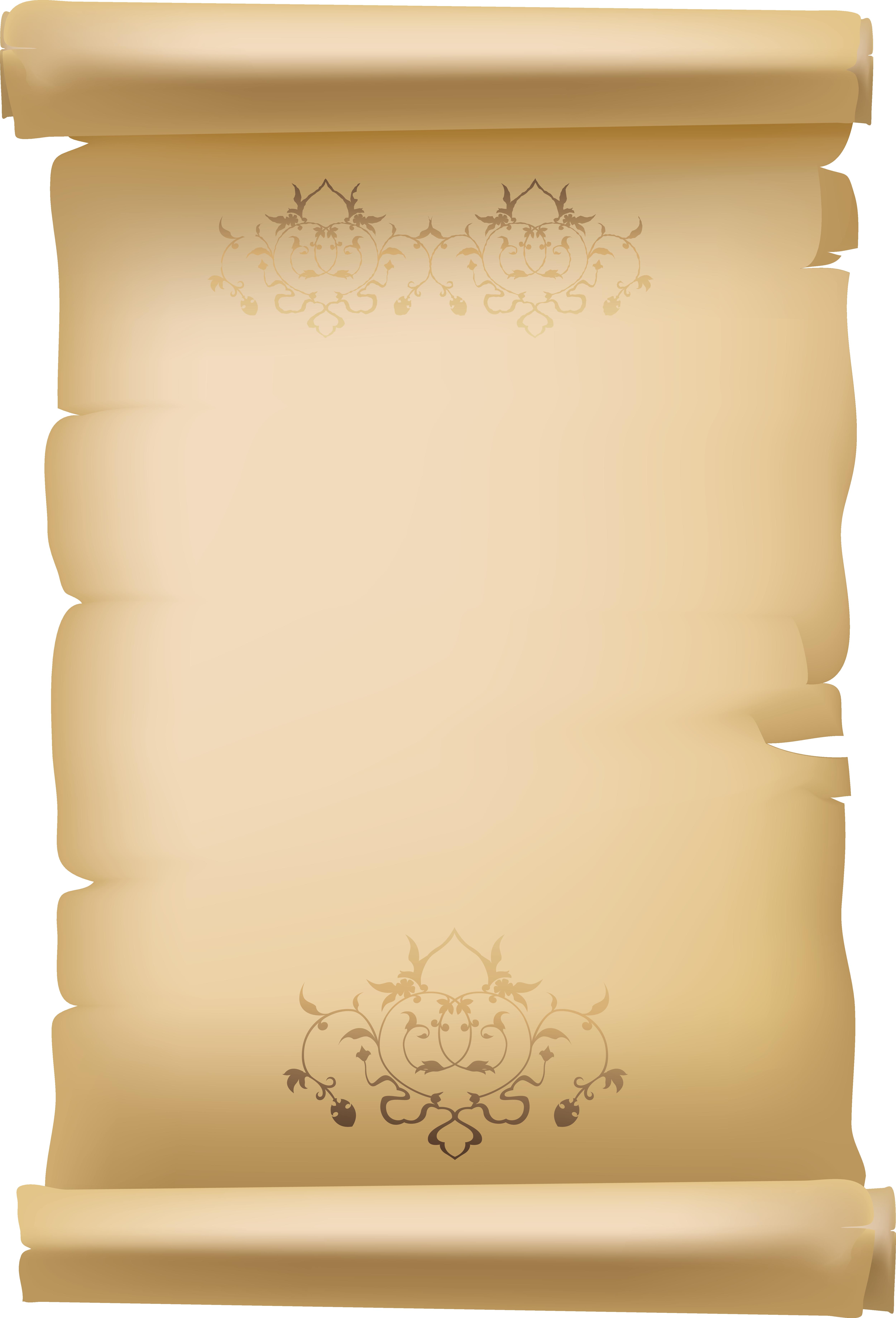 Diploma clipart scroll. Paper clip art transprent
