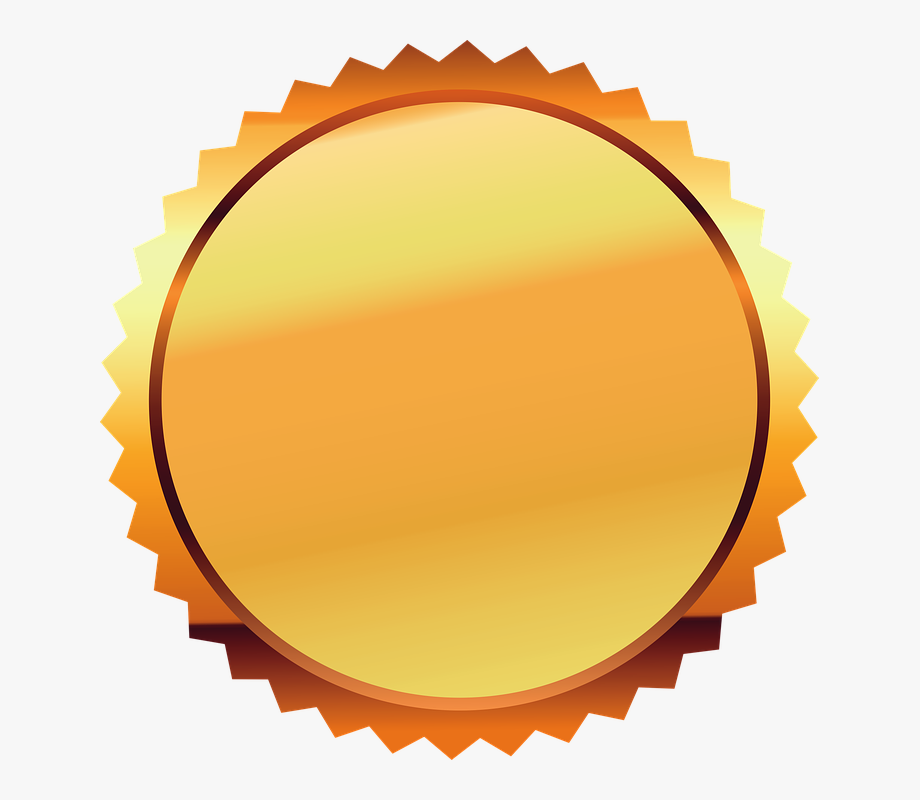 Seal gold certificate png. Stamp clipart diploma