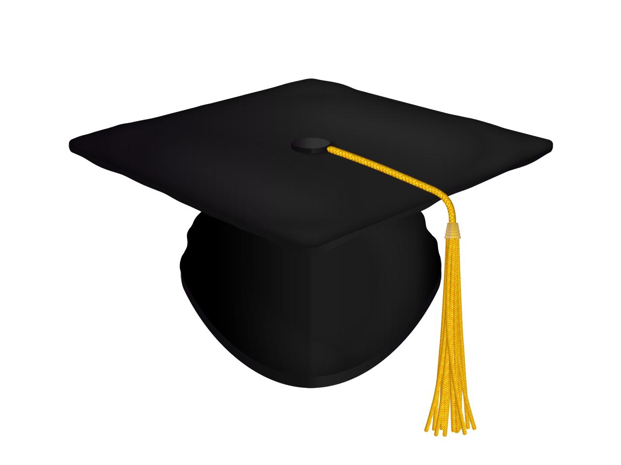Diploma clipart transparent background. Hat black vector art