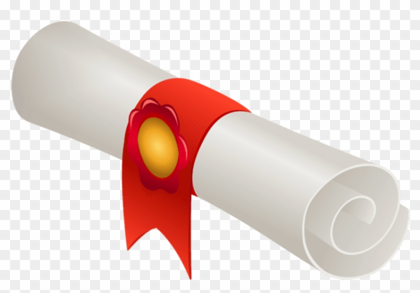 Free png download rolled. Diploma clipart transparent background