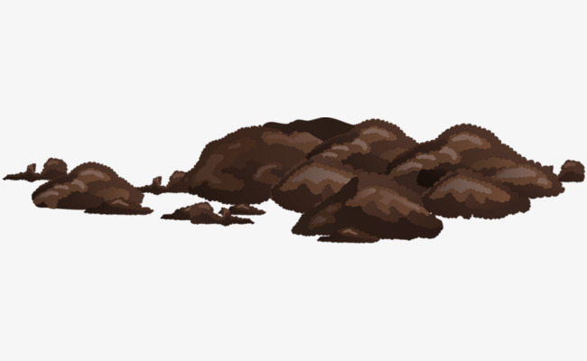 Dirt clipart. A pile of soil
