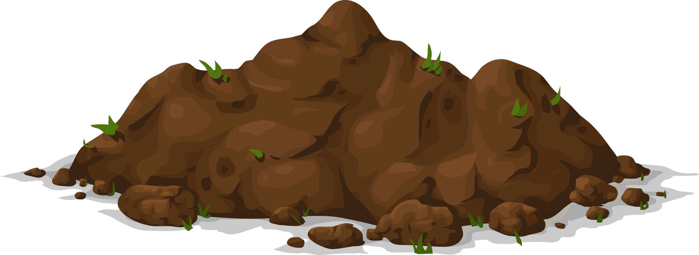 collection of pile. Mud clipart dirt mound