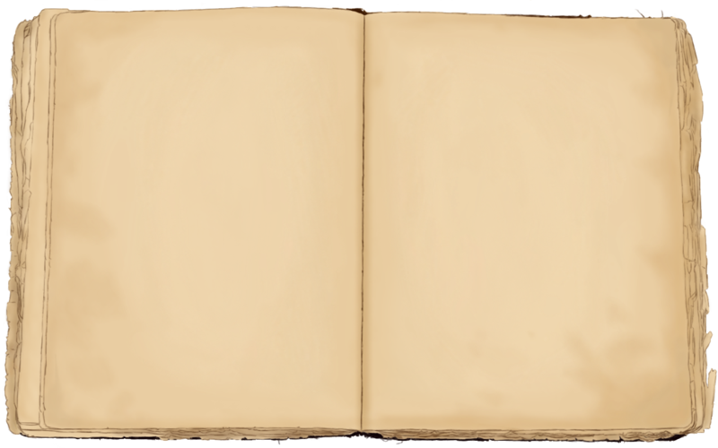 Antique blank book png. Textbook clipart transparent background