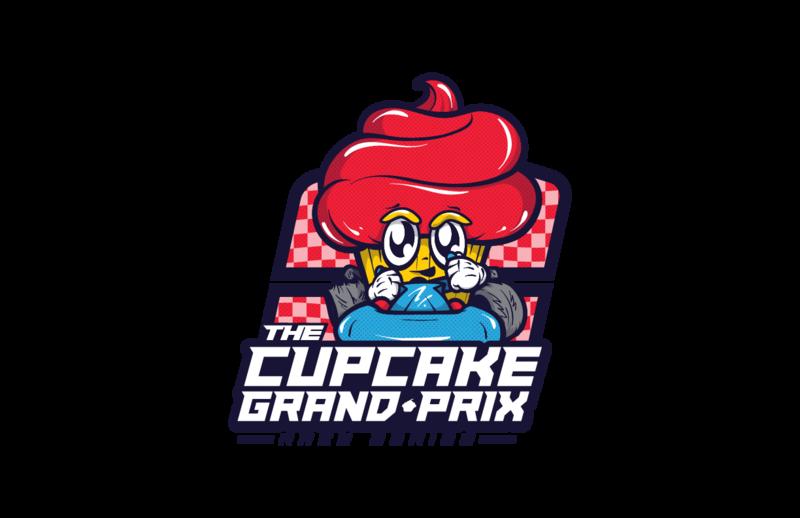 The cupcake grand prix. Dirt clipart beach rock