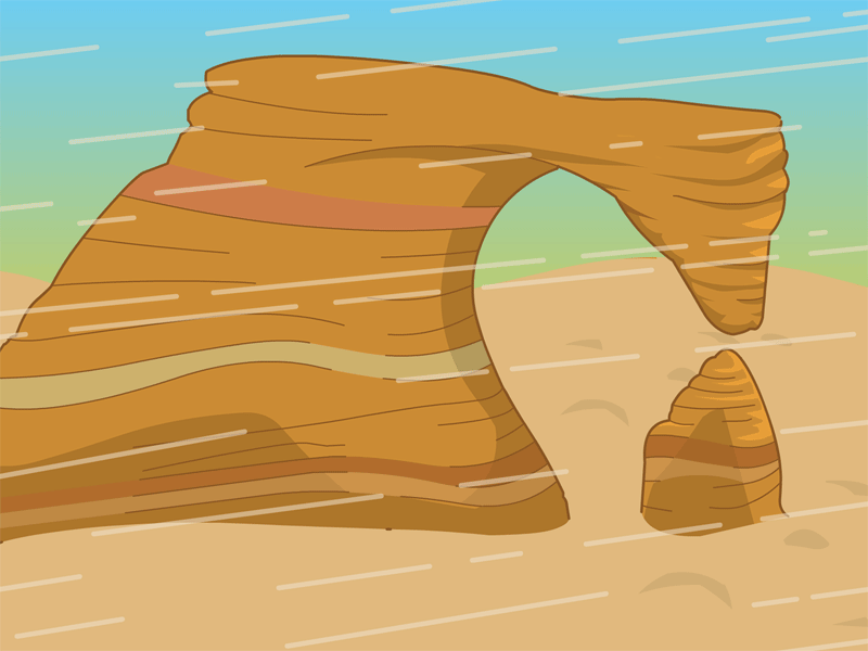 Dirt clipart deposition rock. Free erosion cliparts download