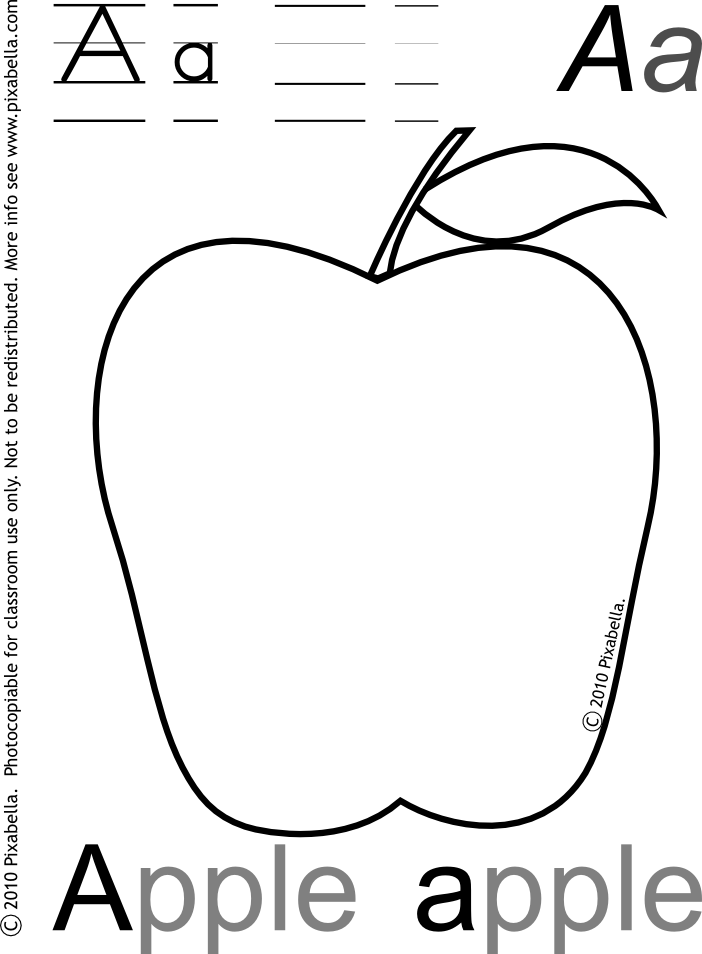 Apple stencil printable many. Dirt clipart drawn