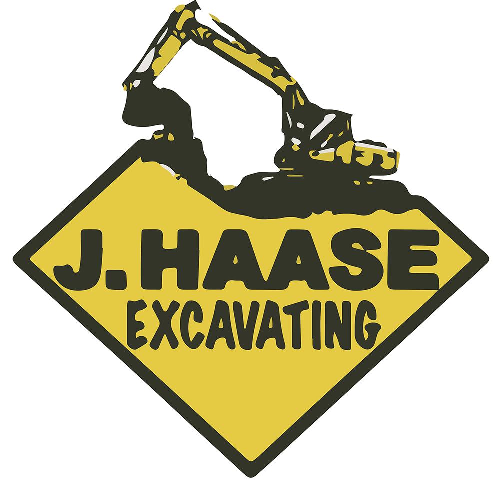 Dirt clipart excavation. J haase excavating