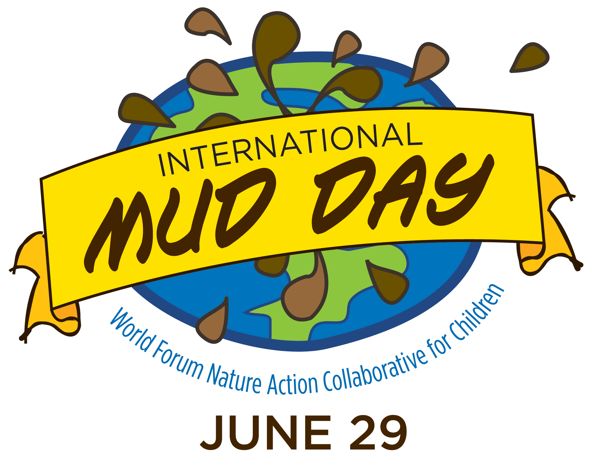 Mud faces day official. Dirt clipart muddy puddle