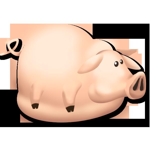 Fat clipart pig. Hay day wiki fandom