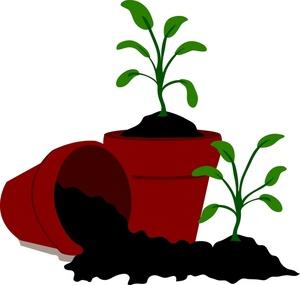 Free soil cliparts download. Dirt clipart plant