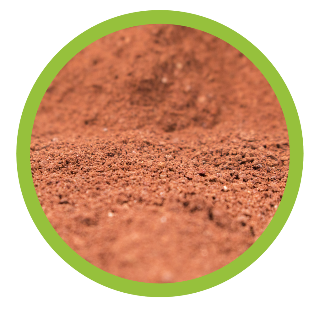 The martian garden bulk. Dirt clipart red soil