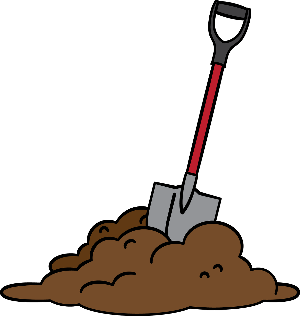 Dig clipart wanton. Digging dirt angel moroni