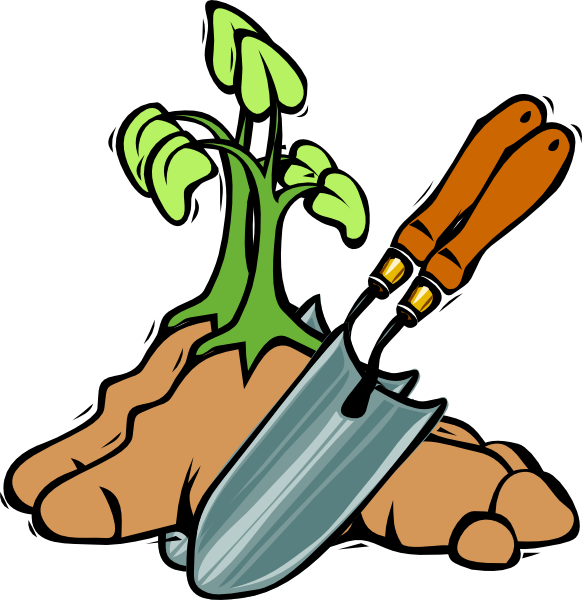 Dirt clipart small plant. Grow clip art at