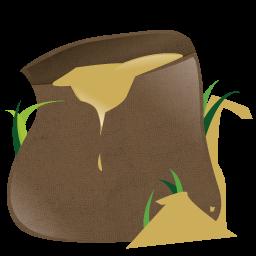 Dirt clipart soil bag. Free cliparts garden download