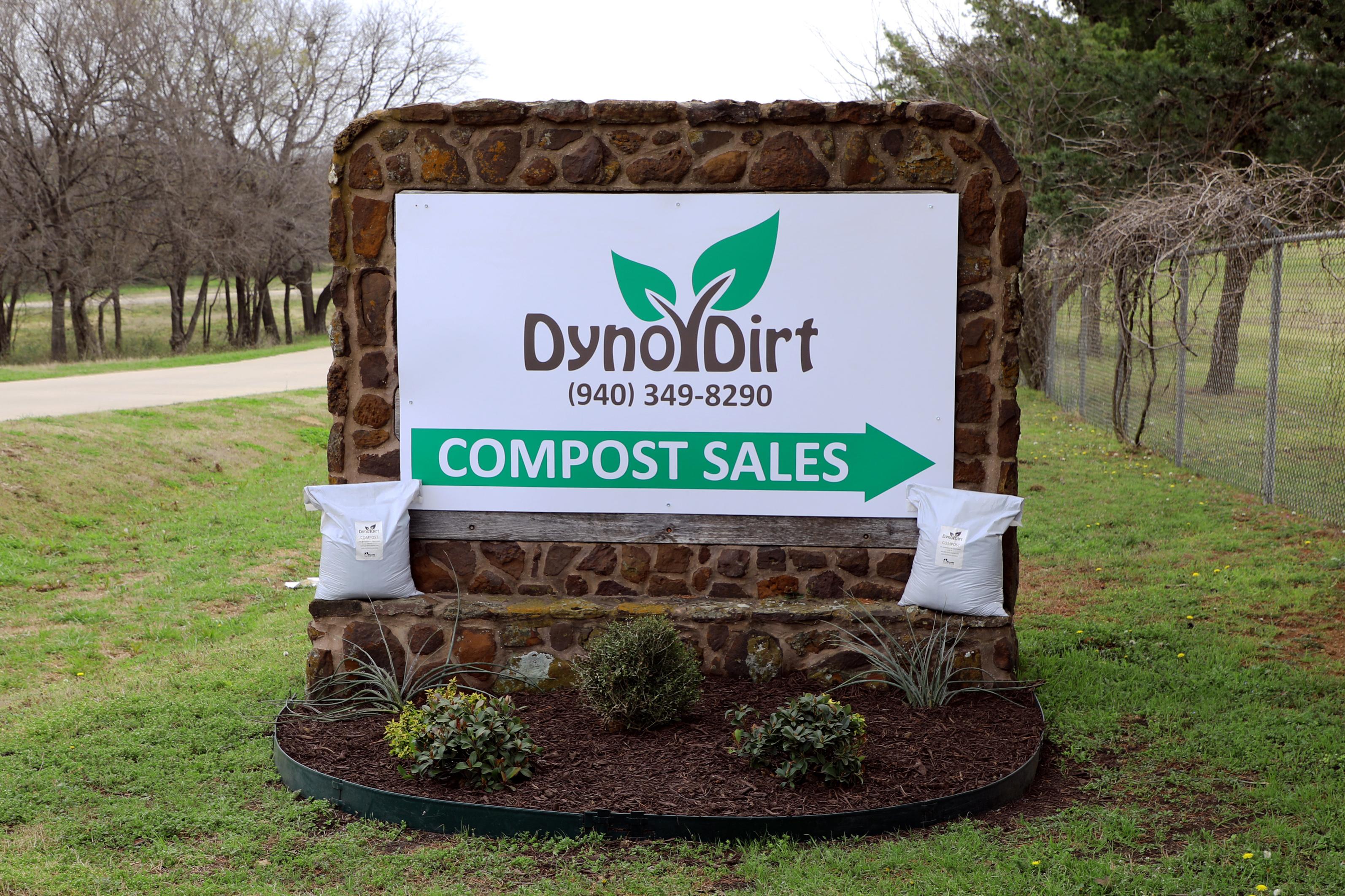 Dyno city of denton. Dirt clipart soil bag
