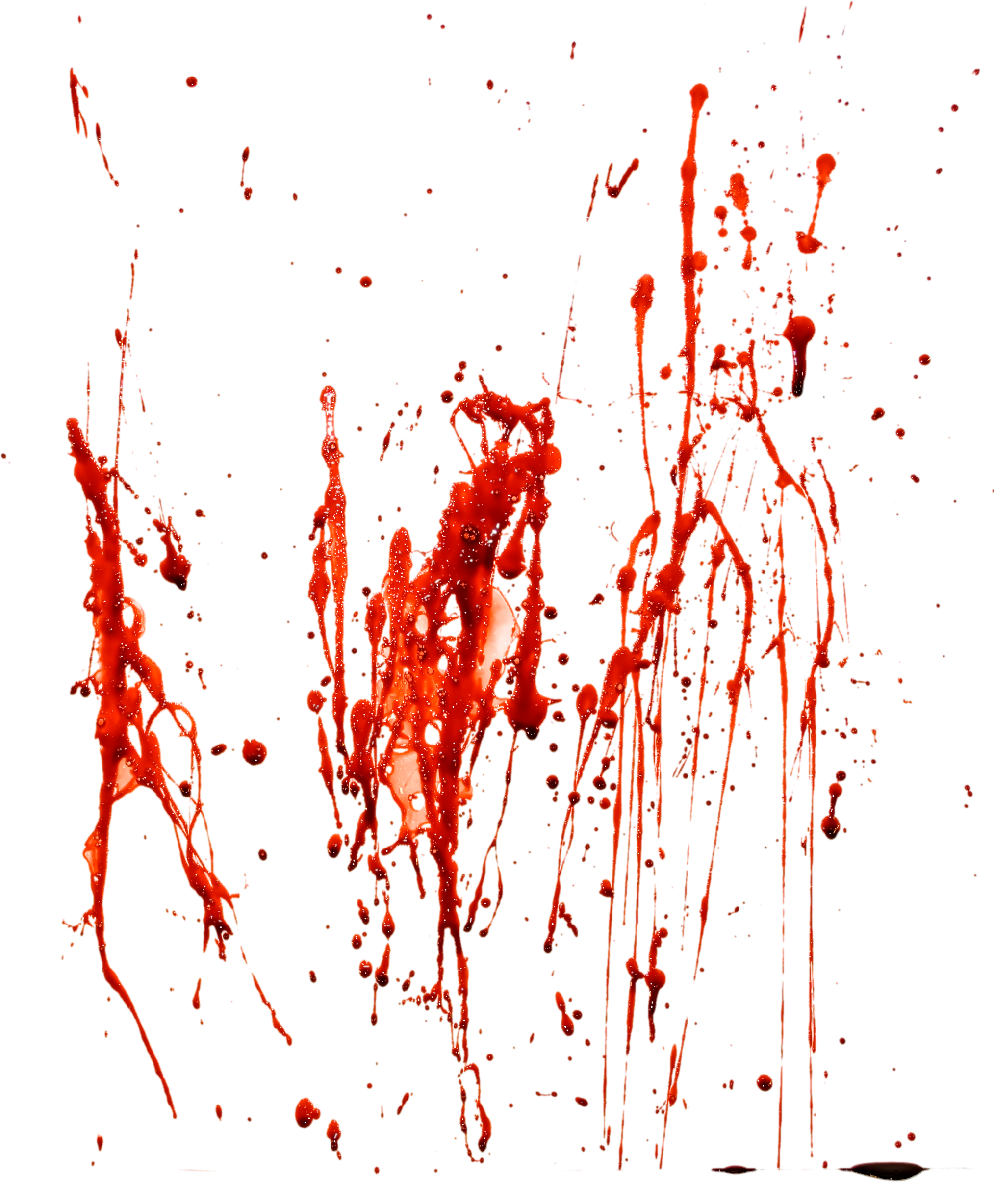 Blood seventy four isolated. Dirt clipart splatter