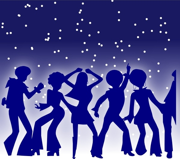 Dance clipart disco. Dancers clip art free