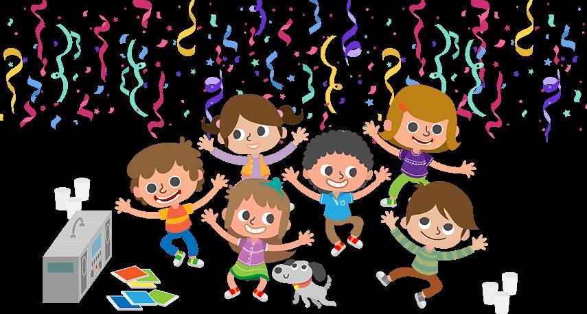 Children's glow birthday parties and ideas for children's parties ...