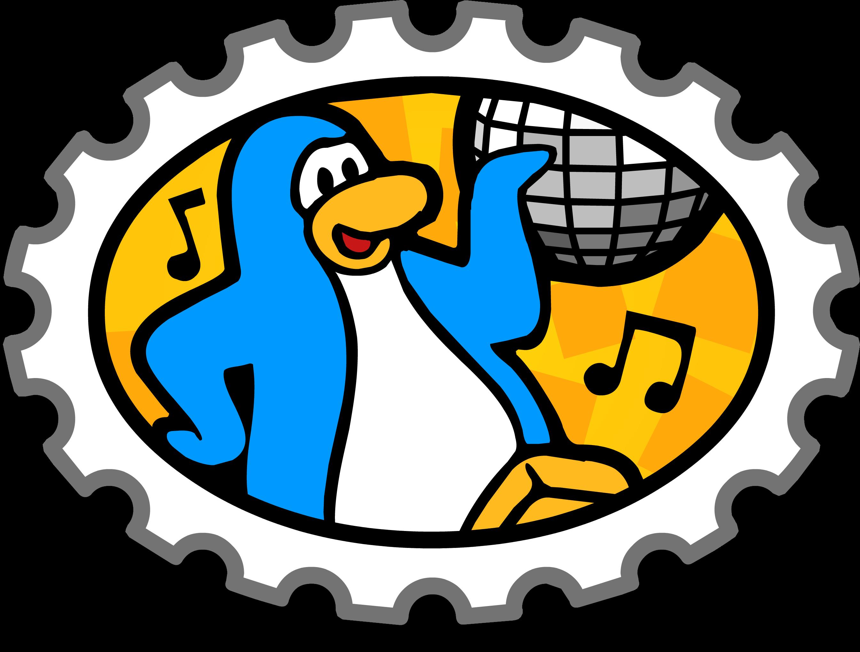 Dance Party stamp   Club Penguin Wiki   FANDOM powered by Wikia