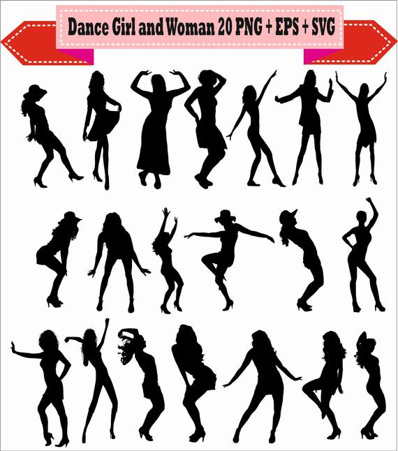 Disco clipart dance hip hop. Sexy women woman girl