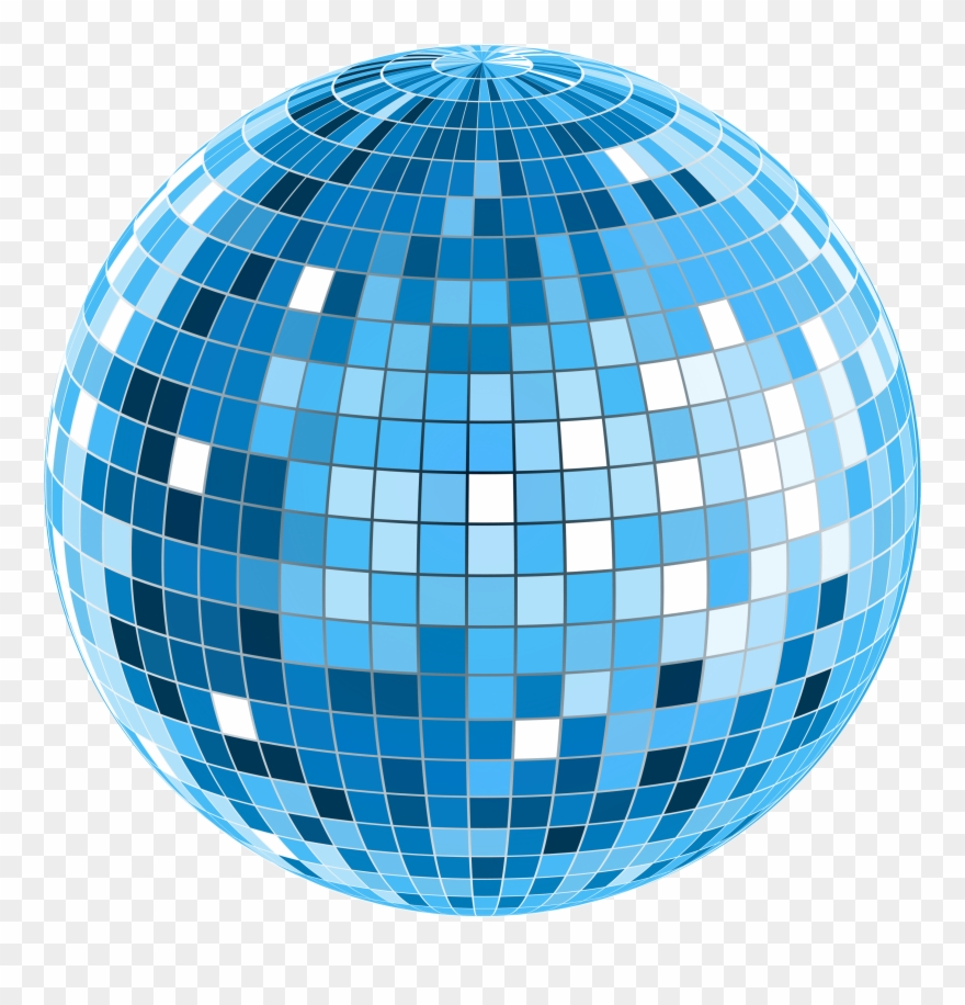 Disco clipart disco ball. Clip art transparent