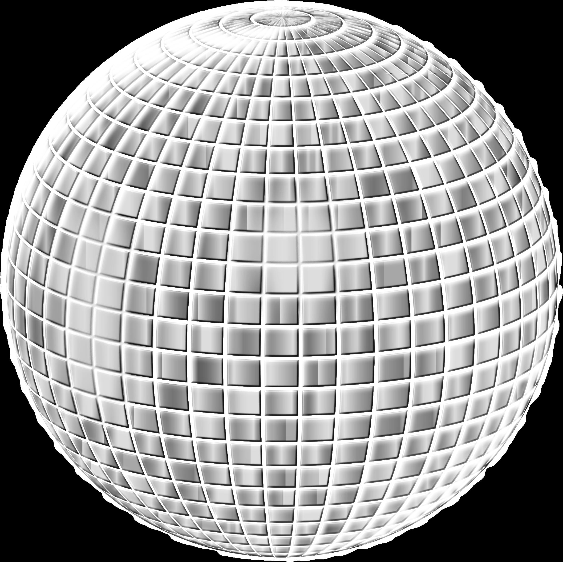 Glimmering enhanced no background. Disco clipart disco ball