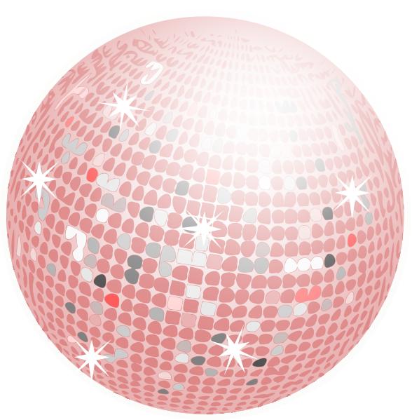 Ball clip art at. Disco clipart disco lights