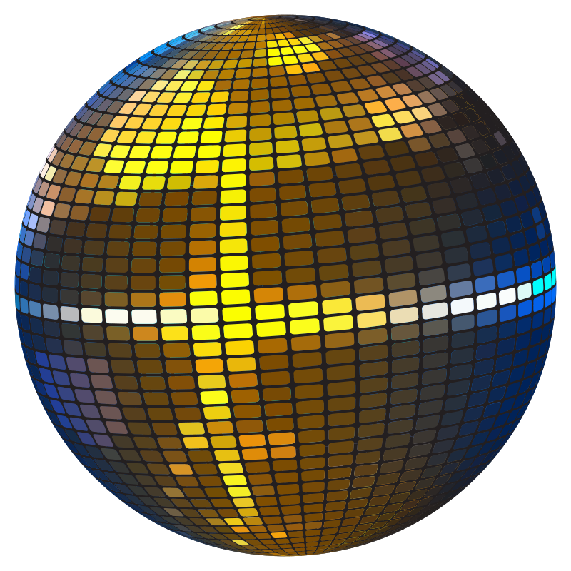Ball transparent png pictures. Disco clipart disco lights