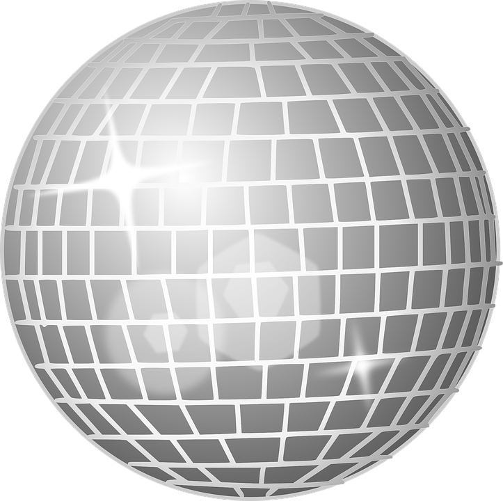 Disco clipart disco party. Online ordering closed glow