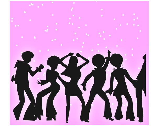 Clip art at clker. Disco clipart disco party
