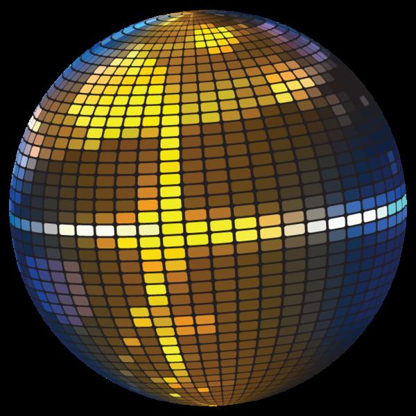 ball clip art. Glass clipart disco