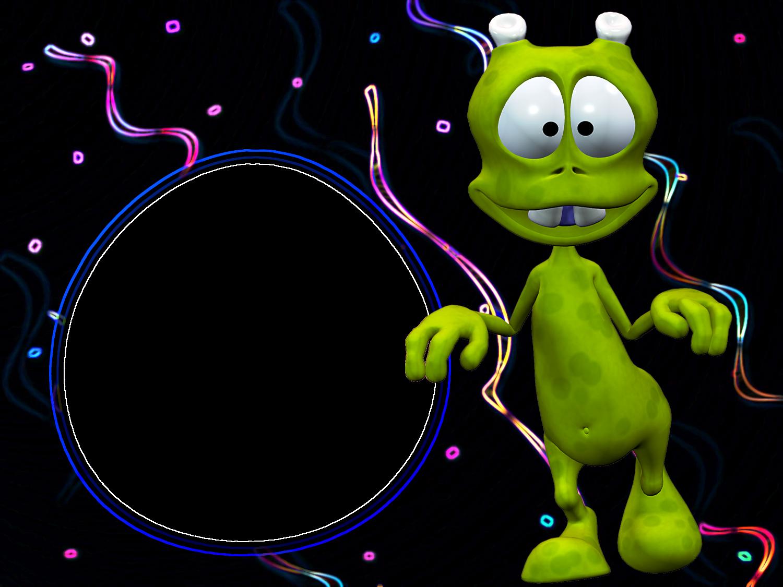 Disco clipart kids disco. Alien transparent photo frame