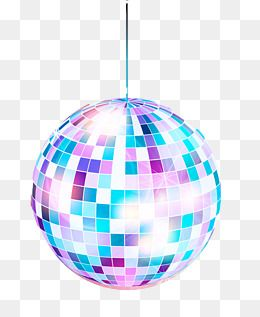 Fashion ball posters material. Disco clipart vector