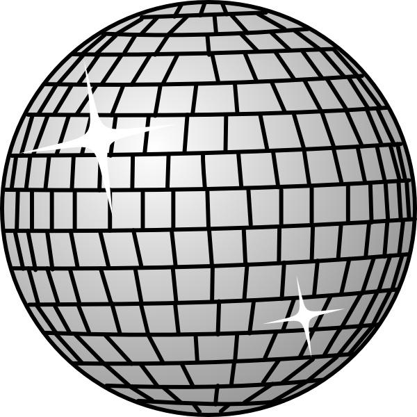 Disco clipart. Ball clip art free