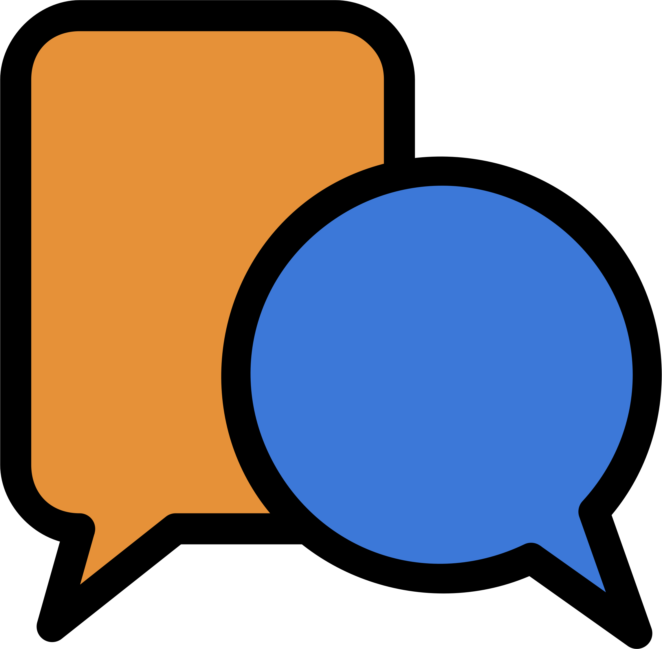 Moodle icon big image. Discussion clipart